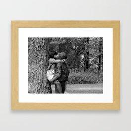 Tree Huggers Framed Art Print