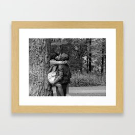 Tree Huggers Framed Art Print