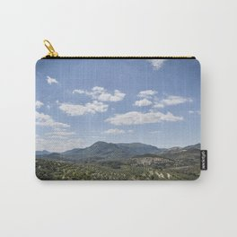 Mountains and Olive Trees Carry-All Pouch