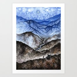 Under Endless Night Art Print