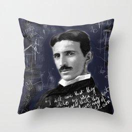 Nikola Throw Pillow