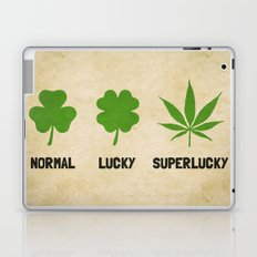 Cannabis / Hemp / Shamrock - Super Lucky mode Laptop & iPad Skin