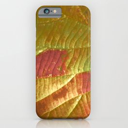 Leafylicious iPhone Case