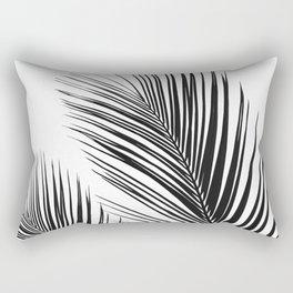 Tropical Palm Leaves #1 #botanical #decor #art #society6 Rectangular Pillow