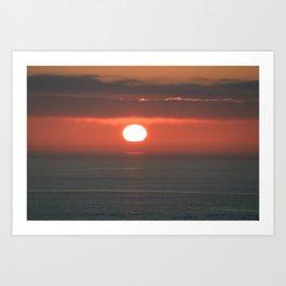 the dying heat Art Print