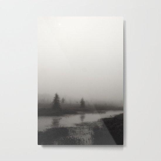 ghostly Metal Print