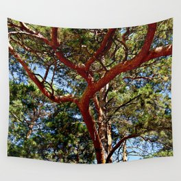 Autumnal lure of the forest Wall Tapestry