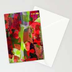 winter puzzle Stationery Cards