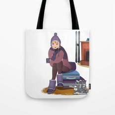 I Love Winter Tote Bag