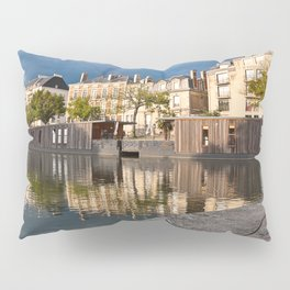 Nantes Riverside Scenery Pillow Sham