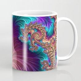 Peacock Feather Coffee Mug