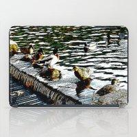 ducks iPad Cases featuring Ducks  by MaximusMax76