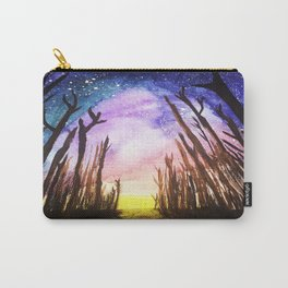 Twilight Woods Carry-All Pouch