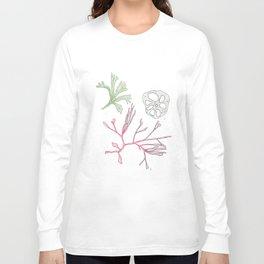 Seaweed and Lotus Root Long Sleeve T-shirt