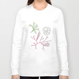 Seaweed and Lotus Root Long Sleeve T-shirt