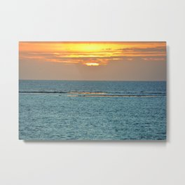 Just Me & The Sea Metal Print