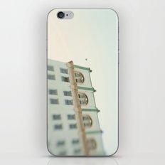 Seafoam Green Building iPhone & iPod Skin
