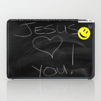 bible verses iPad Cases featuring Bible School Lesson #1 by serloren