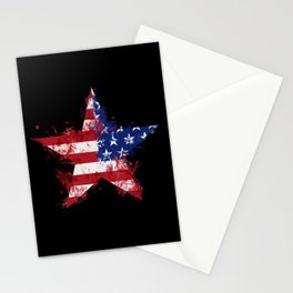 Artistic LXXXIX - Americana Star II Stationery Cards