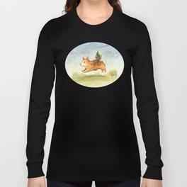 Faery mount Corgi Long Sleeve T-shirt