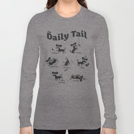 The Daily Tail Dog Long Sleeve T-shirt