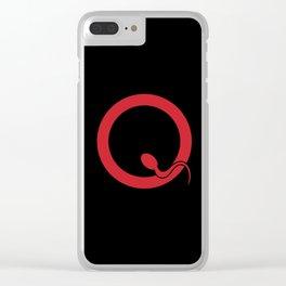 Spermy Q Clear iPhone Case