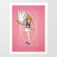 Art Print featuring Sakura by rifaen