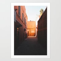 morocco Art Prints featuring Morocco by Alden Terry
