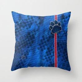 Monarchs Paw 1 Throw Pillow
