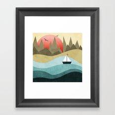 Ocean Adventure 2  Framed Art Print