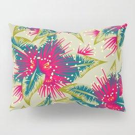 New Zealand Rata floral print (Day) Pillow Sham