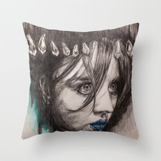 Eyes on you    BY.Davy Wong Throw Pillow