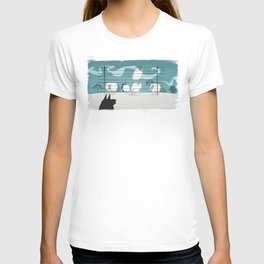 A sheep odyssey T-shirt