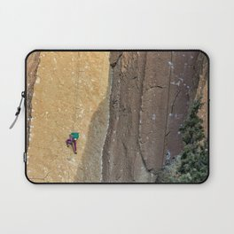 Rock Climbing At Smith Rock, No. 2 Laptop Sleeve