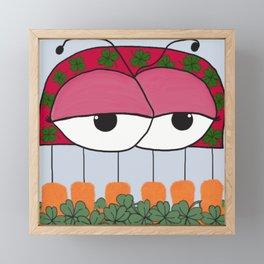 The Irish Ladybird Framed Mini Art Print