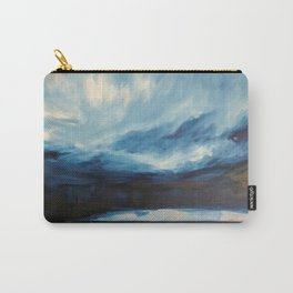 Rain at Sea Carry-All Pouch