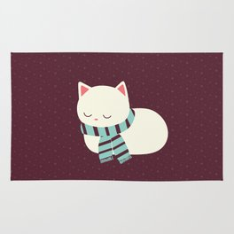 Sleeping Kitty Rug