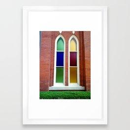 Stained Glass Windows 1 Framed Art Print