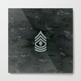 1st Sergeant (Urban Camo) Metal Print