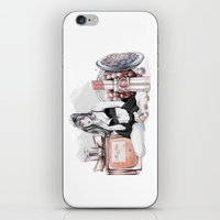 ysl iPhone & iPod Skins featuring Lady Nude by Cristina Alonso