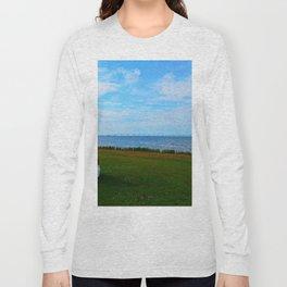 Acadian Playhouse in PEI Long Sleeve T-shirt