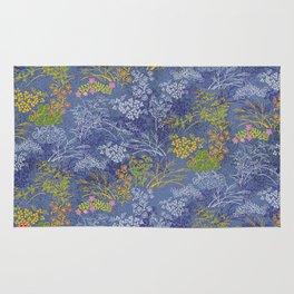 Vintage Japanese floral pattern Rug