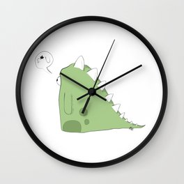 F* U Dino Wall Clock