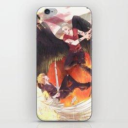 JACE VS SEBASTIAN iPhone Skin