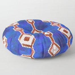 Boho Basic Eye {RWB} Floor Pillow