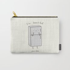 I'm Beautiful Inside Carry-All Pouch