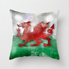 Wales - Cymru Throw Pillow