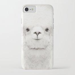 SMILING ALPACA iPhone Case