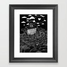 sound check Framed Art Print
