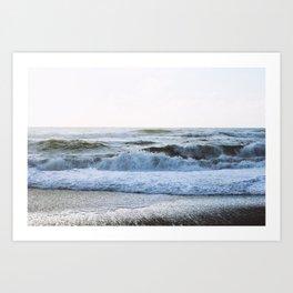 Healing wave (West Coast South, New Zealand) Art Print